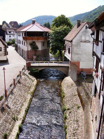 """Die """"Steinach"""" in Neckarsteinach"""