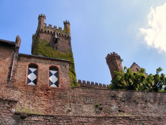 Burgen am Neckar