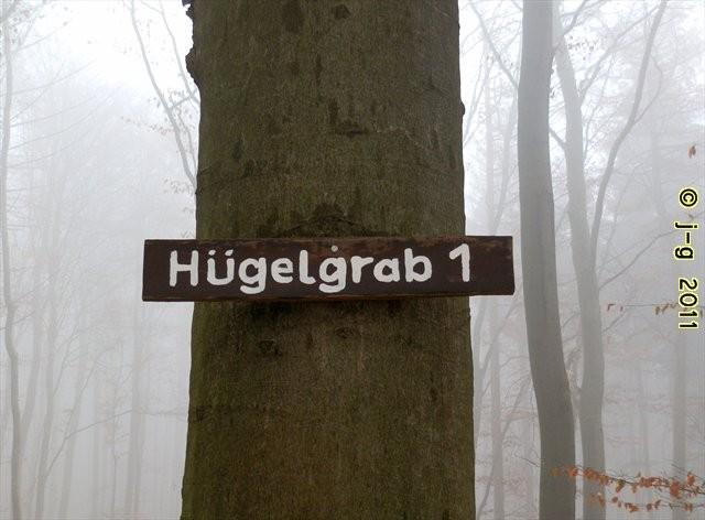 Hügelgrab - Kennzeichnung