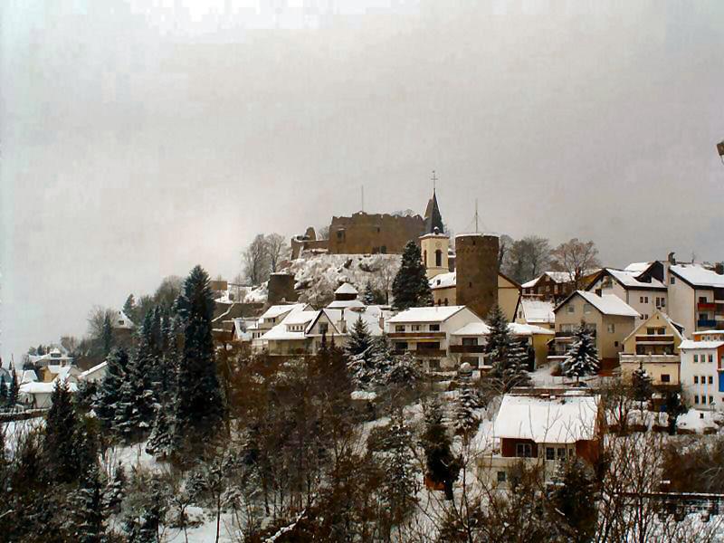 Burgruine und Stadt Lindenfels
