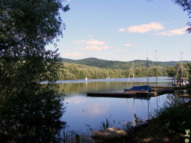 Der Bruchsee bei Heppenheim