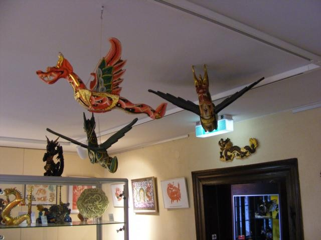 Im Lindenfelser Drachenmuseum