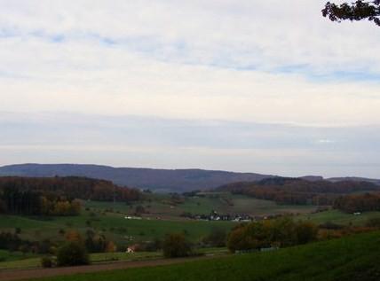 Blick vom Aussichtspunkt nach SW