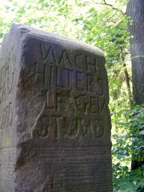 Stundenstein bei Hammelbach