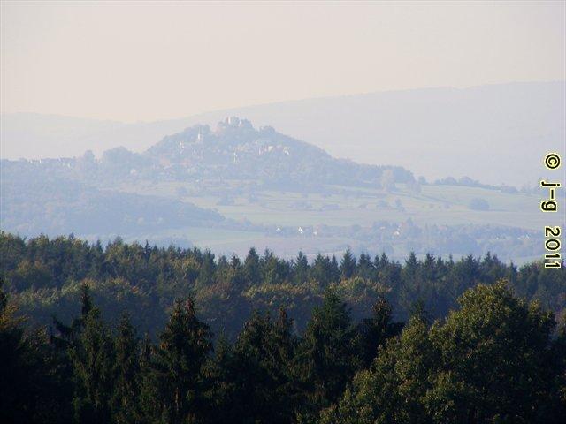Der Otzberg - ein Basaltberg (ehemaliger Vulkan)