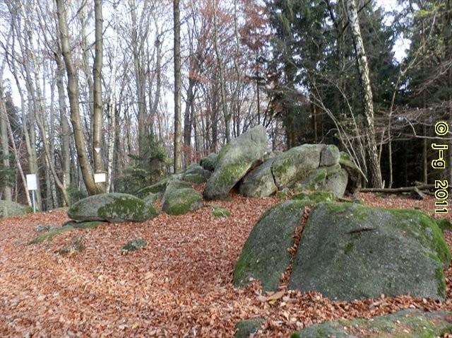 """ND """"Götzensteine"""" - eine Felsenburg"""