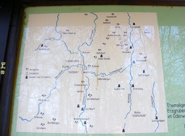 Historischer Bergbau im Odenwald