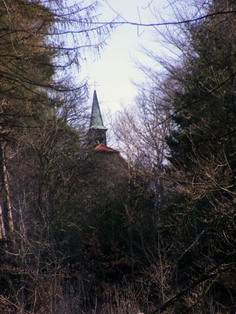 Blick zur Walburgis-Kapelle