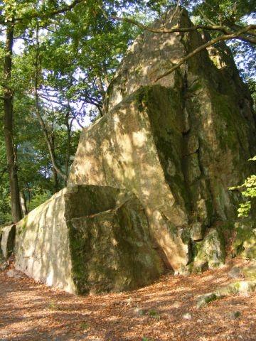 Kletterfelsen Borstein