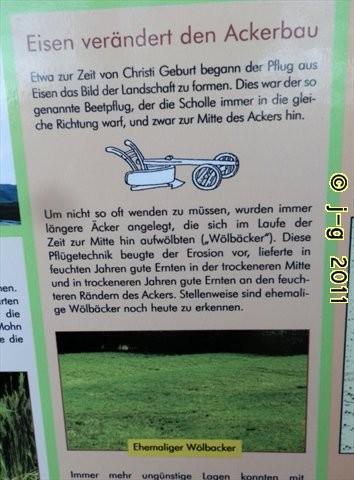 Tafel Wölbäcker