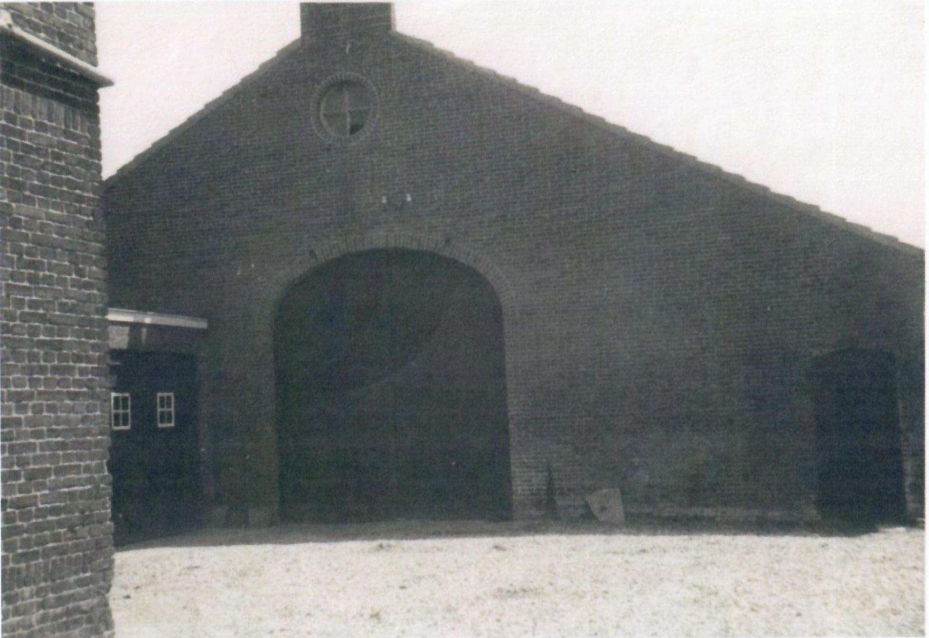 Nieuwe schuur 1949