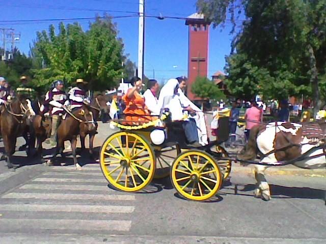 Fiesta de Cuasimodo en Lo Miranda (imagen gentileza de Juvenal Soto)