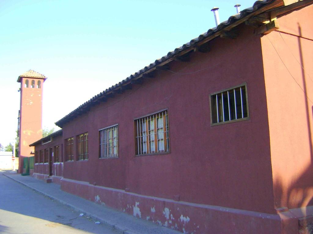 Casa parroquial y Templo