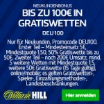 William Hill affiliate provision partnerprogramm