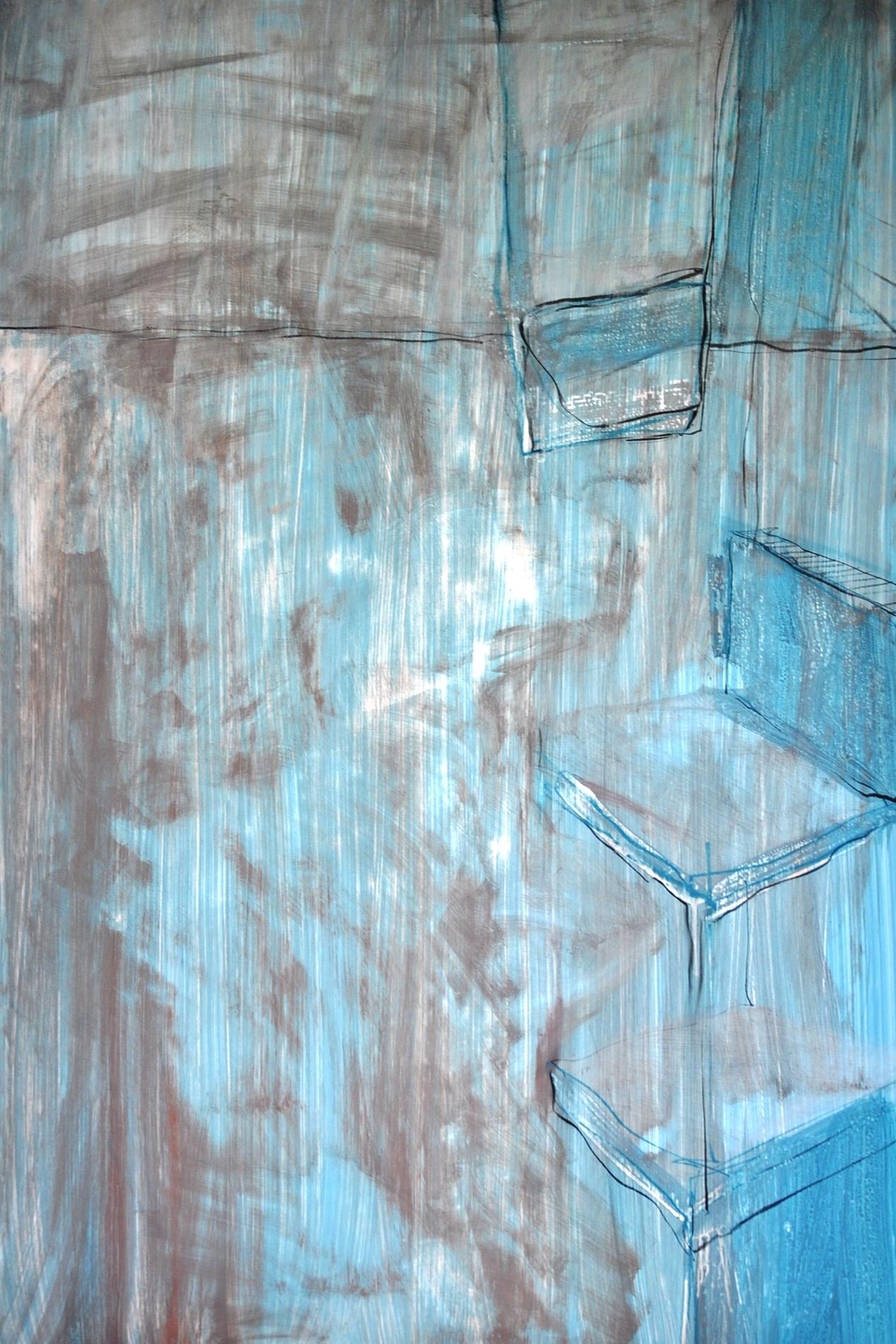 acryl, papier, grootte (b x h): 80 cm x 110 cm, aluminium wissellijst, oplage:1, prijs: € 550