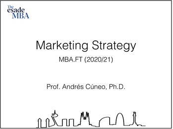 Term1 courseの紹介 ~Marketing Strategy~