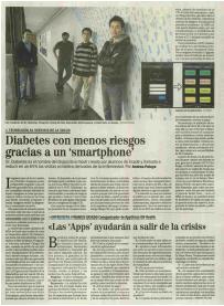 エル・ムンド(スペインの全国紙)の紹介記事