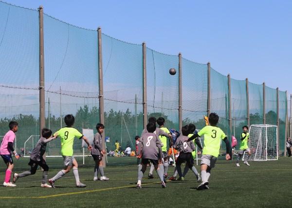 アスリードジュニアサッカー卒業記念大会で準優勝