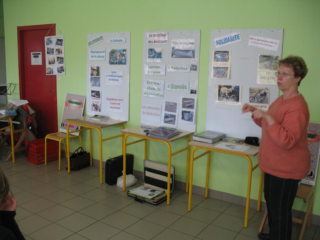 2012 présentation de RDB 61 au Collége d'Athis