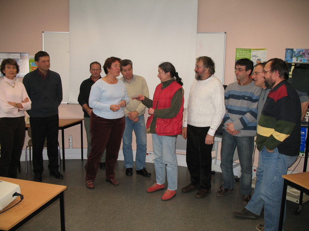 2007 remise de don (chéque de 3250 €) RTE Ifs
