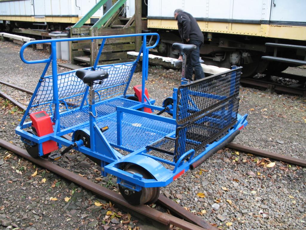 2008 Vélo Rail  adapté