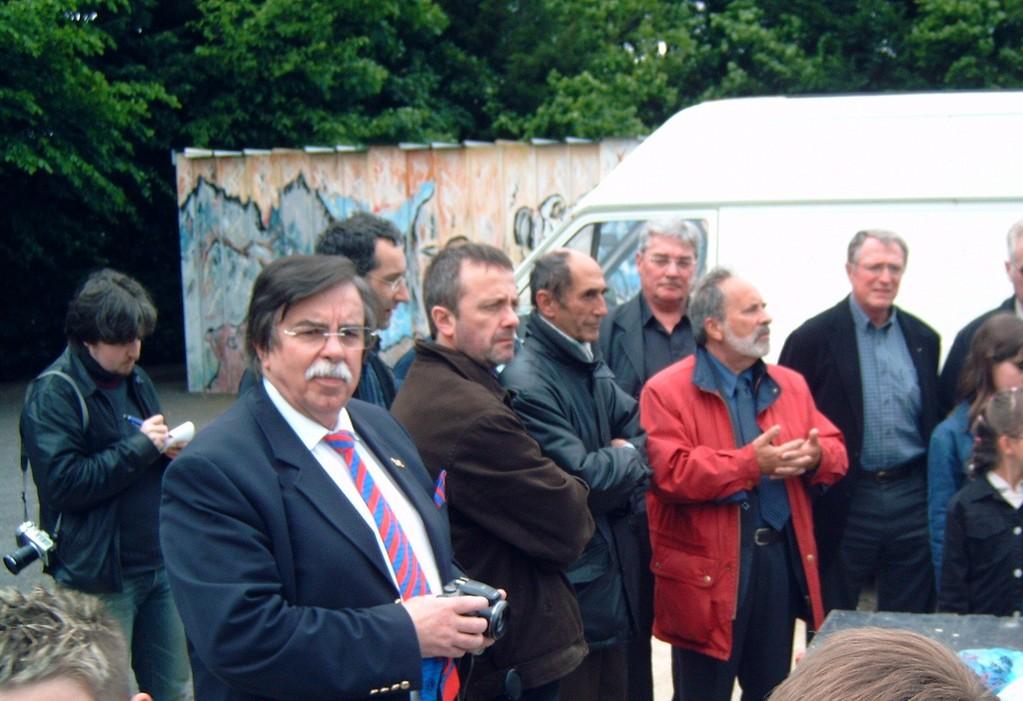 2005 inauguration de la deuxième Joëlette à La Ferté Macé avec le LIONS CLUB