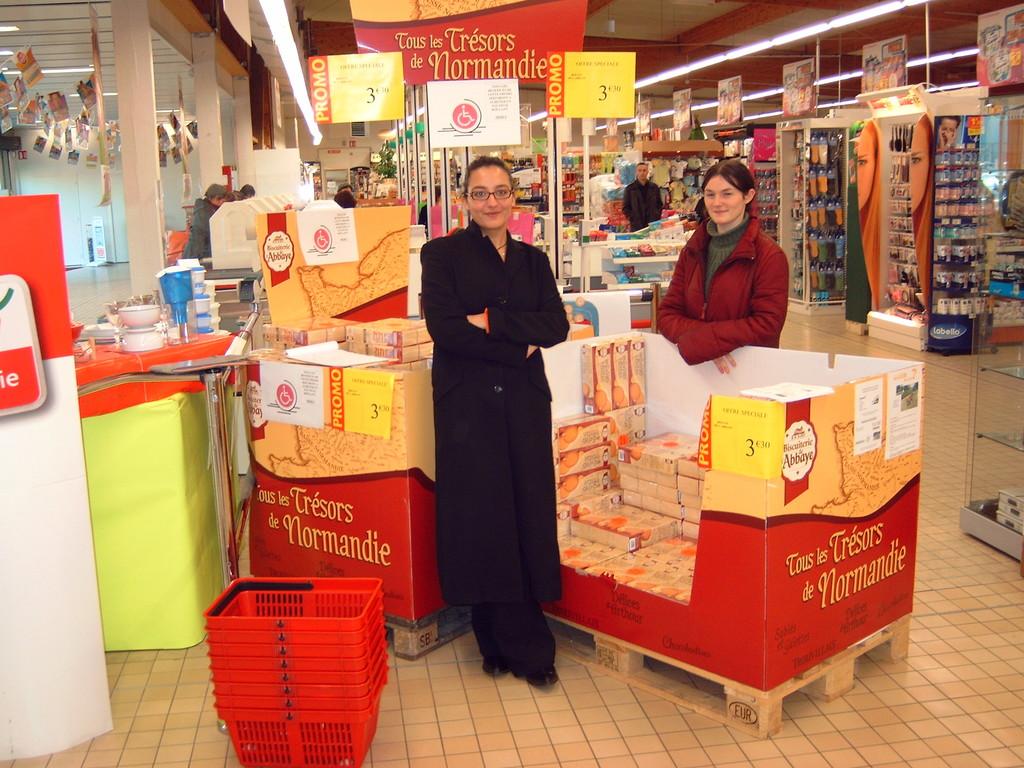 2005 opération Champion et Biscuiterie de l'Abbaye