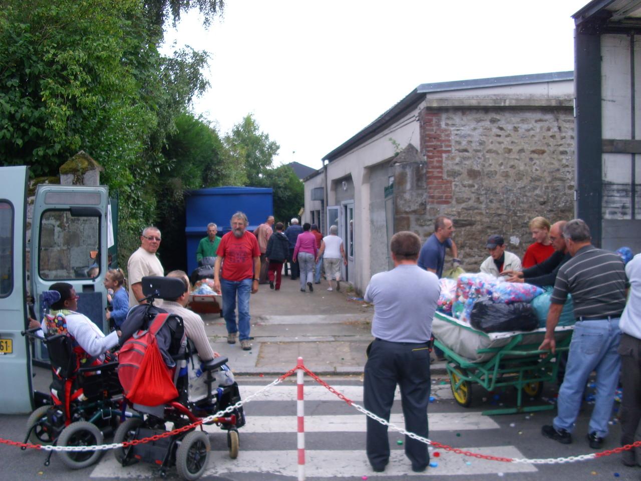 L'I.E.M. de La Férrière aux étangs participe à la collecte des bouchons