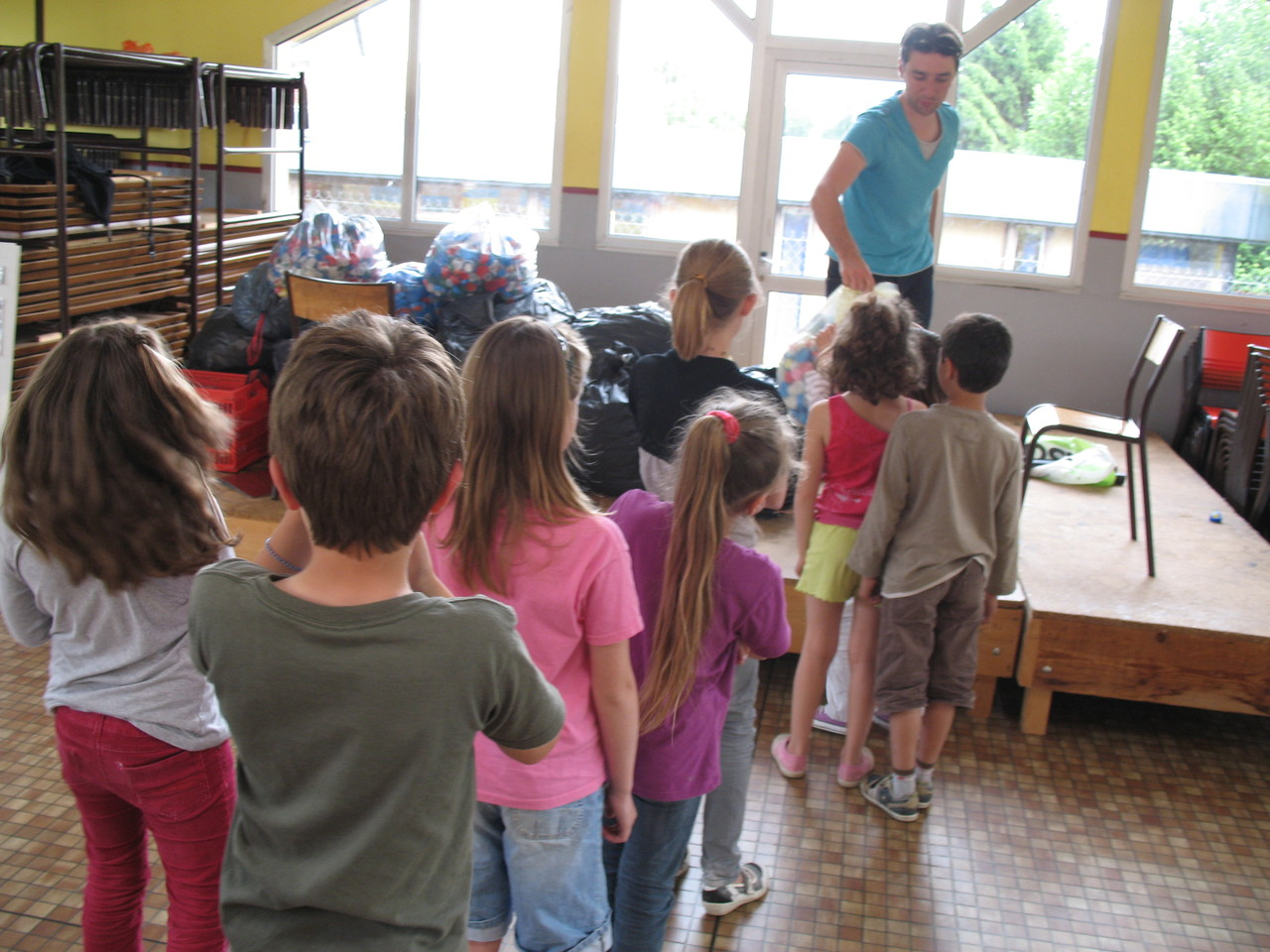 Ecole la Chapelle au Moine   juin 2012