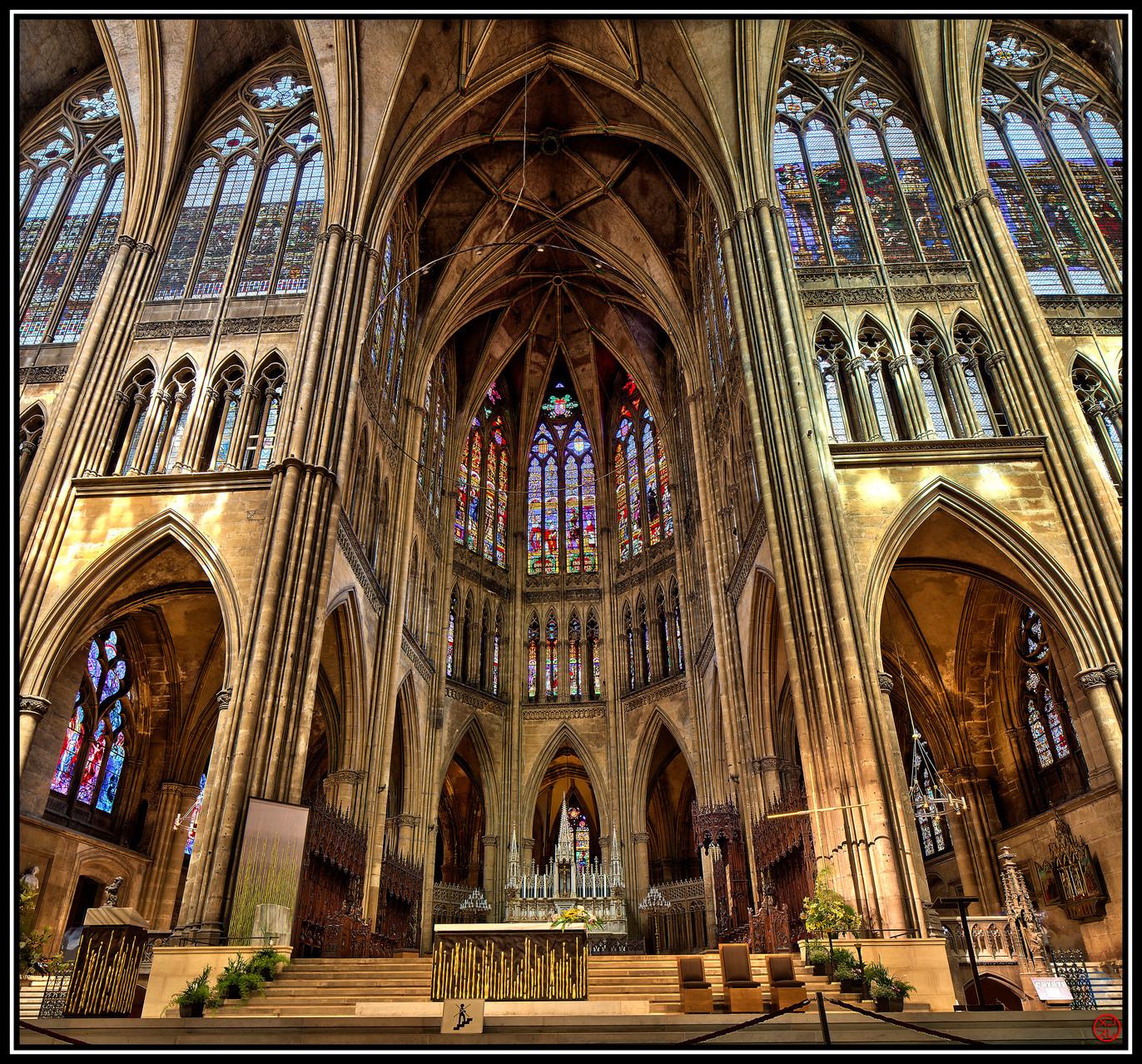 Cathédrale de Metz, France (2012)
