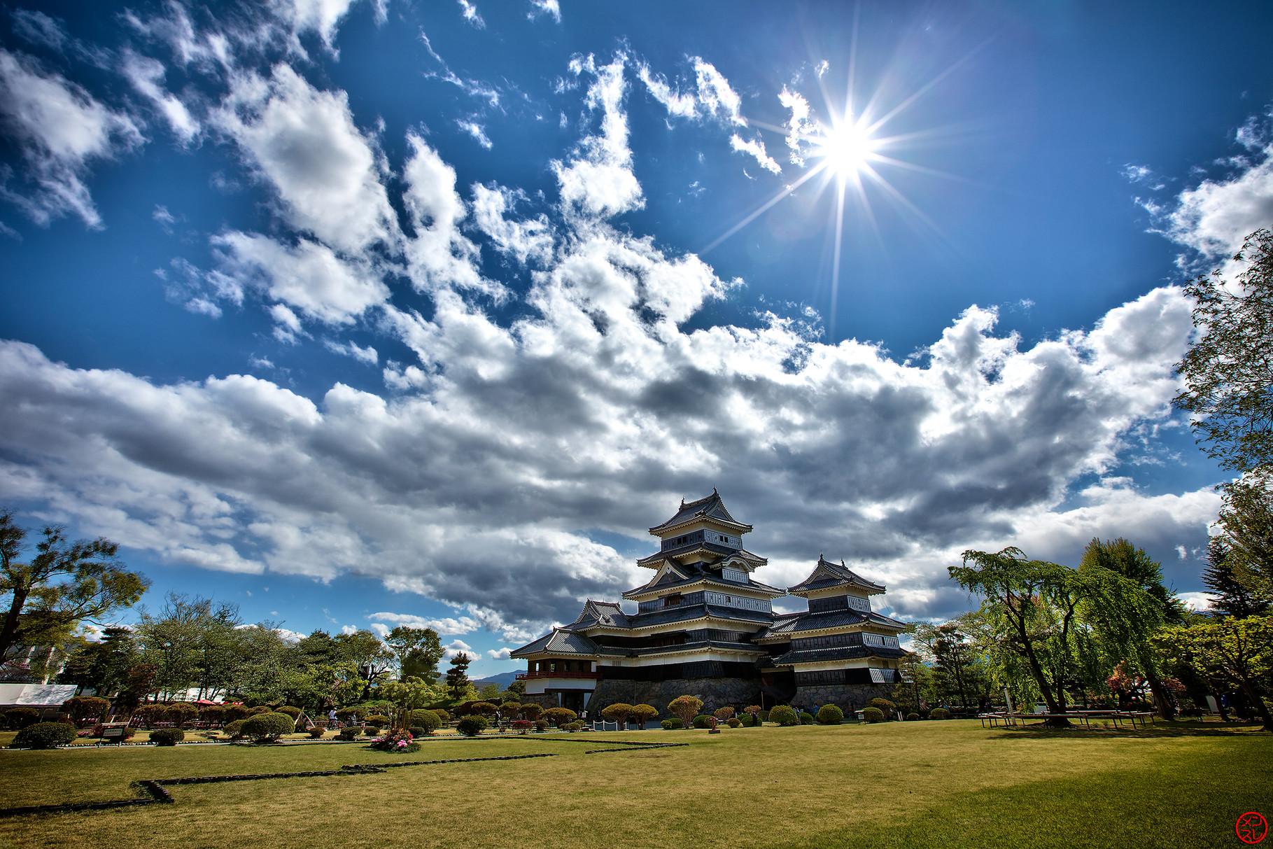 Château de Matsumoto, Japon