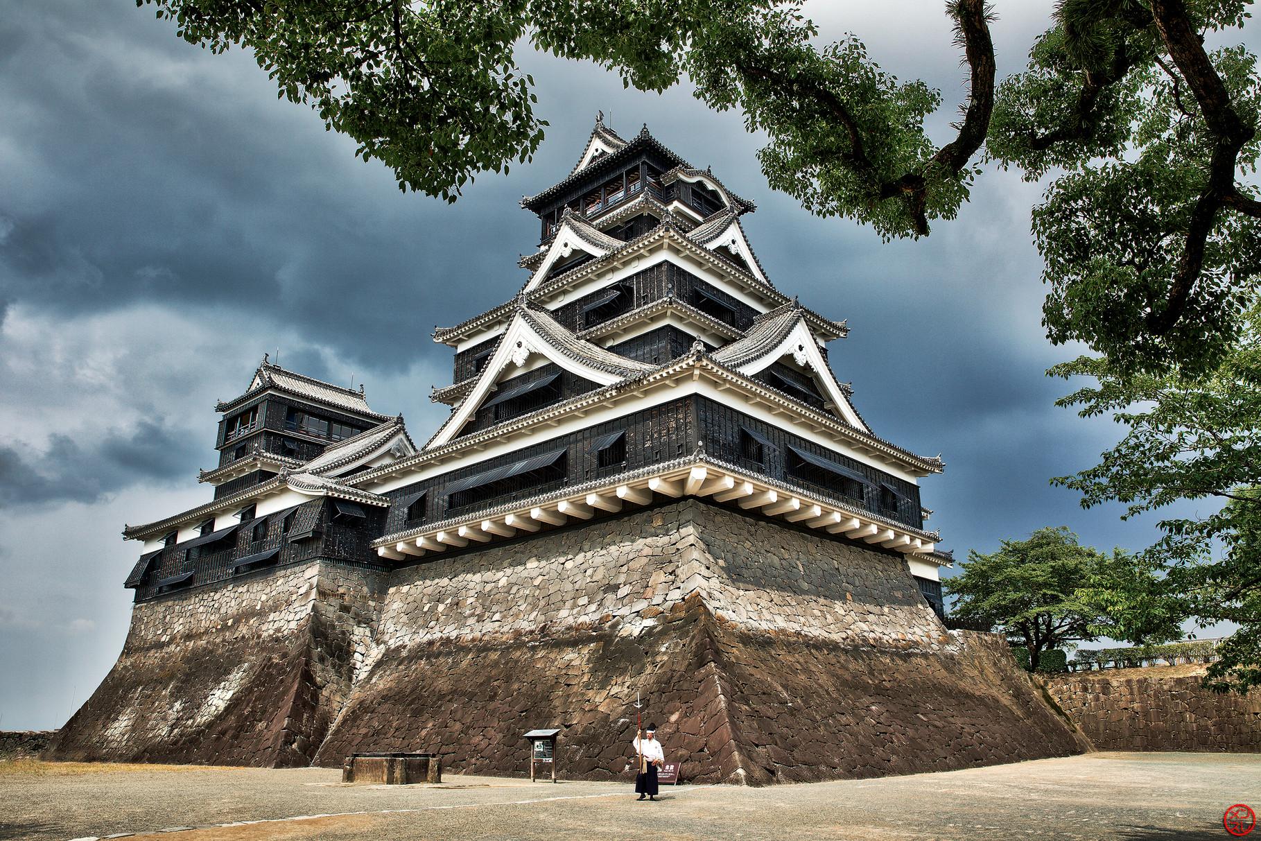 Château de Kumamoto, Japon