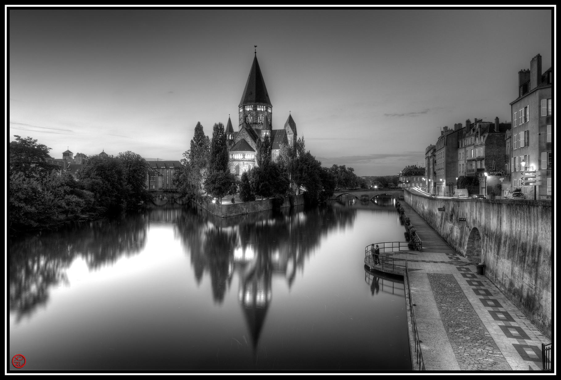 Temple Neuf, Metz, France (2011)