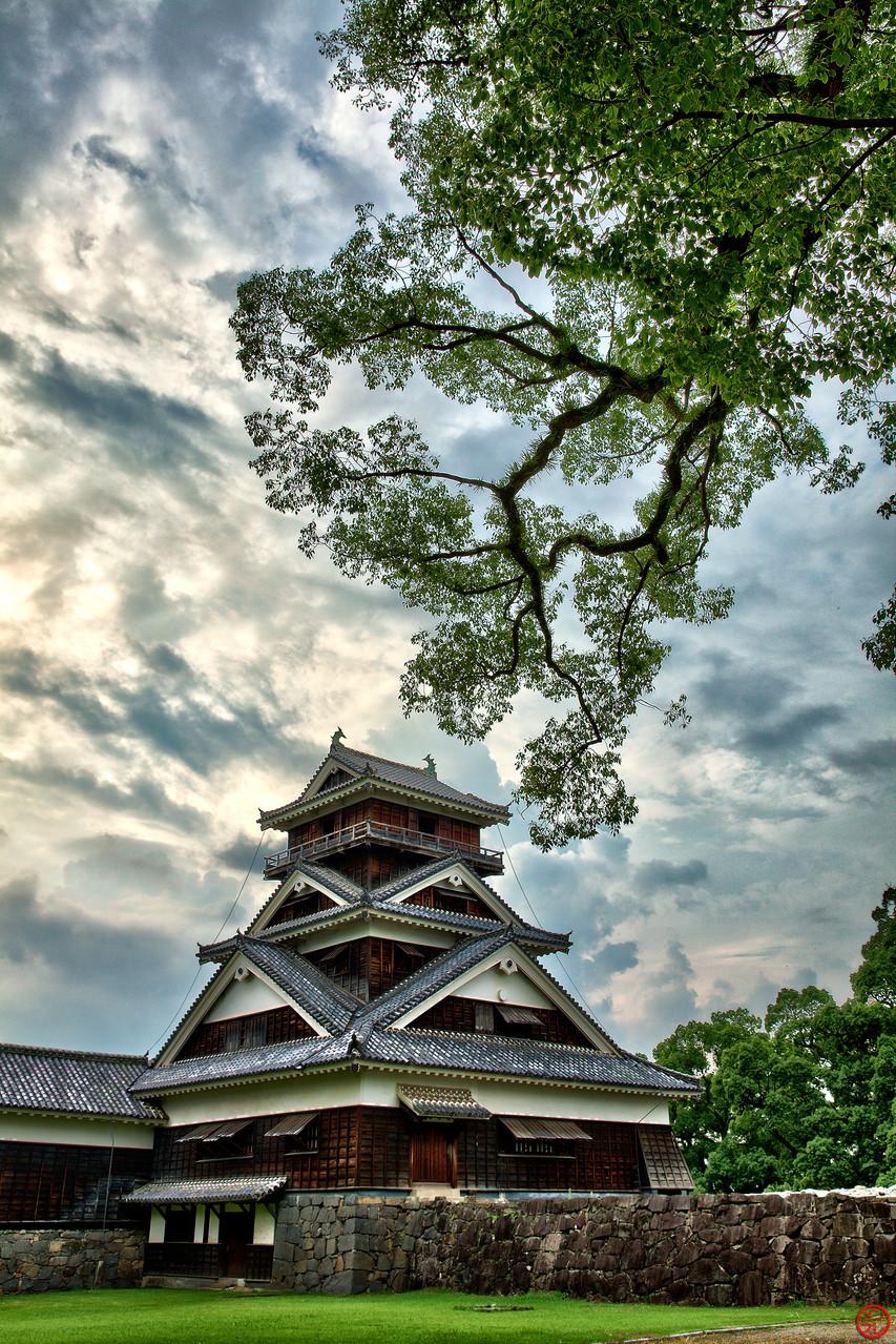 Château de Kumamoto, Japon (2014)