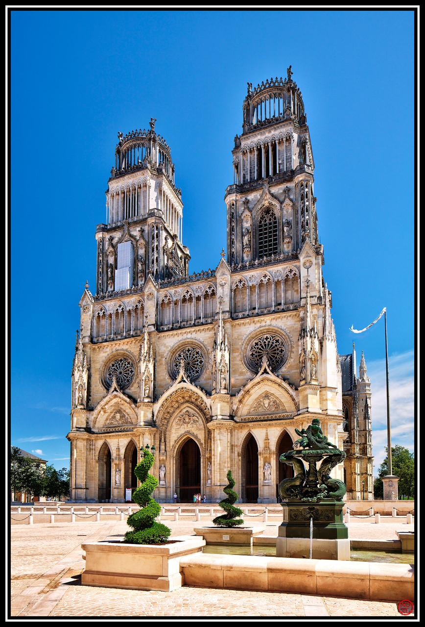 Cathédrale Sainte-Croix, Orléans, France (2012)