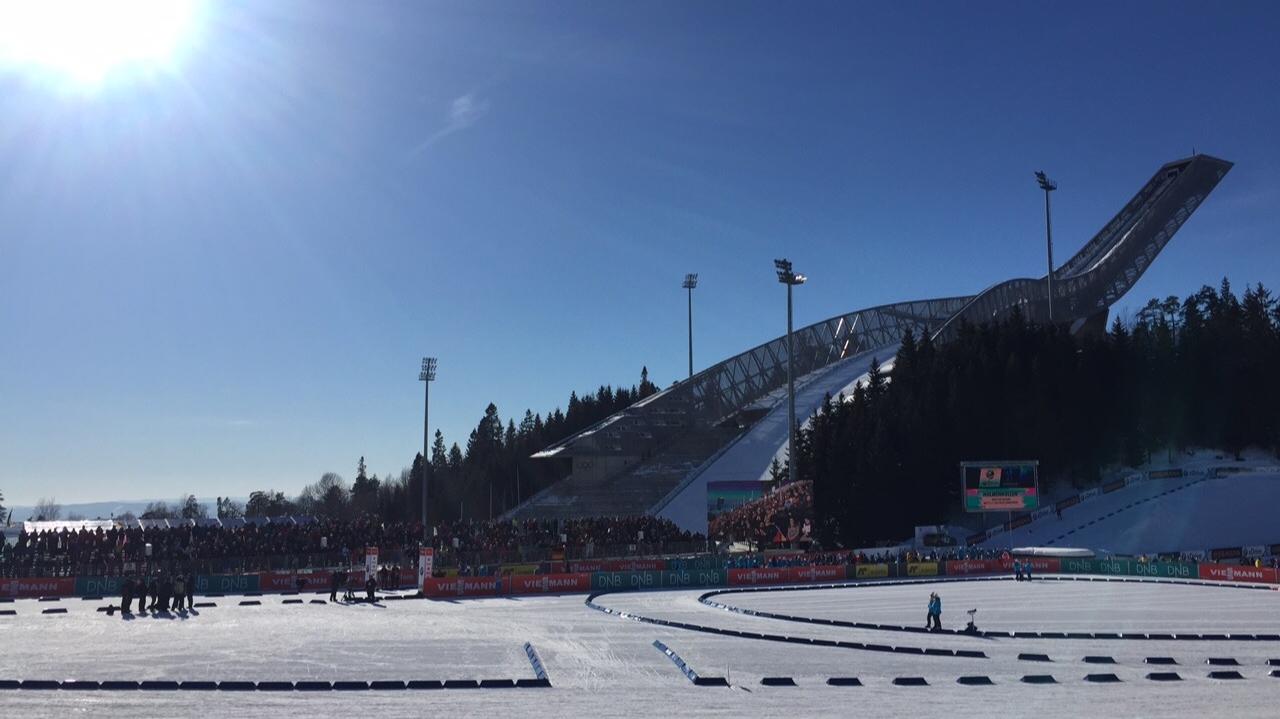 Skisprungschanze auf dem Holmenkollen