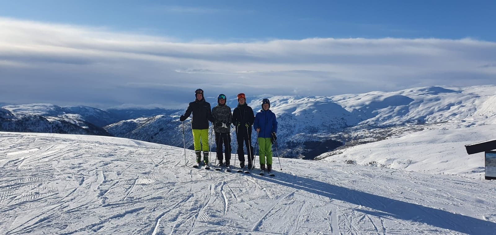 Wochenendausflug zum Skifahren nach Myrkdalen