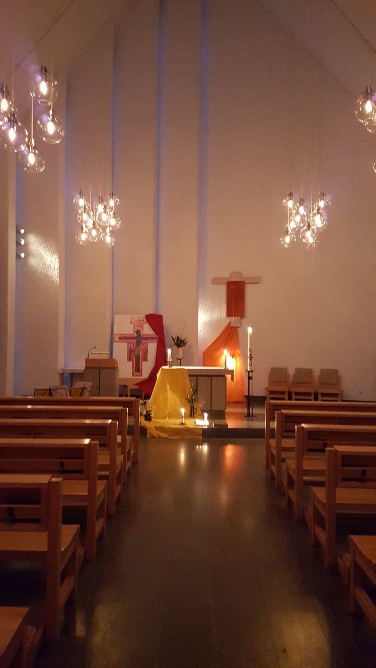 Taizé-Gebet in St.Lars/Uppsala