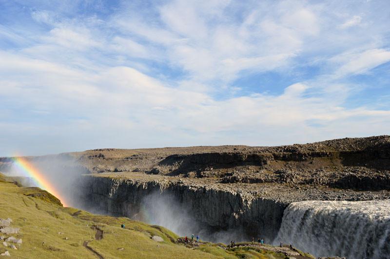 Dettifoss - der stärkste Wasserfall Europas