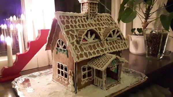 ...und zu Weihnachten ein Pfefferkuchenhaus