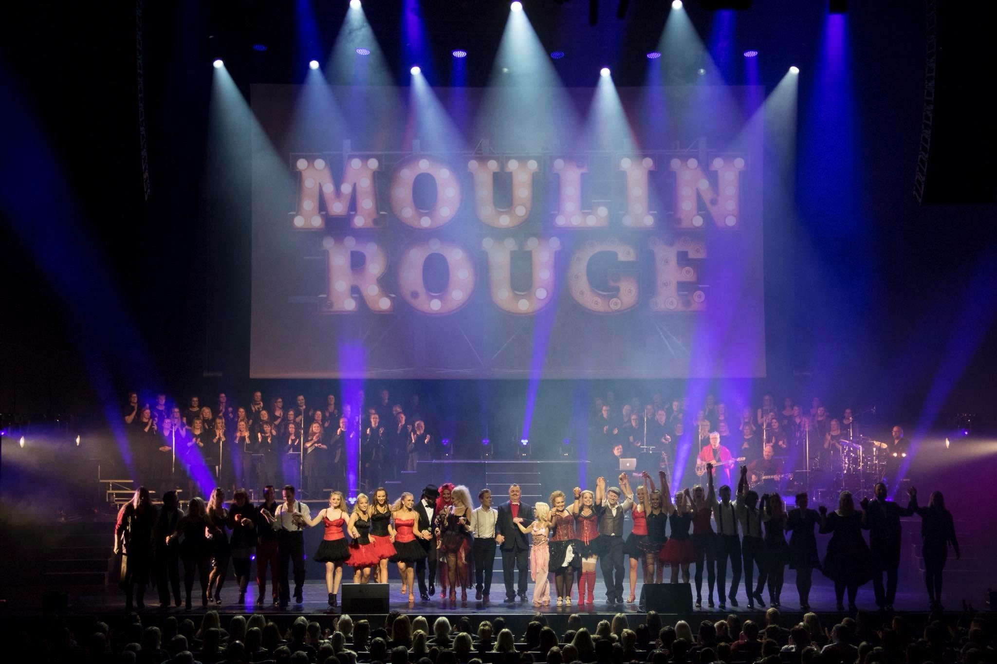 """Aufführung von """"Moulin Rouge"""", bei der Miriam Schmelz mitgewirkt hat; Copyright: Forte ehf"""