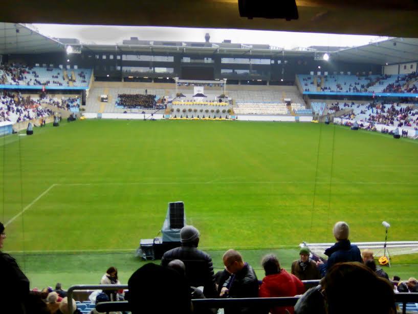 Das Stadion, in dem die Papstmesse stattfand