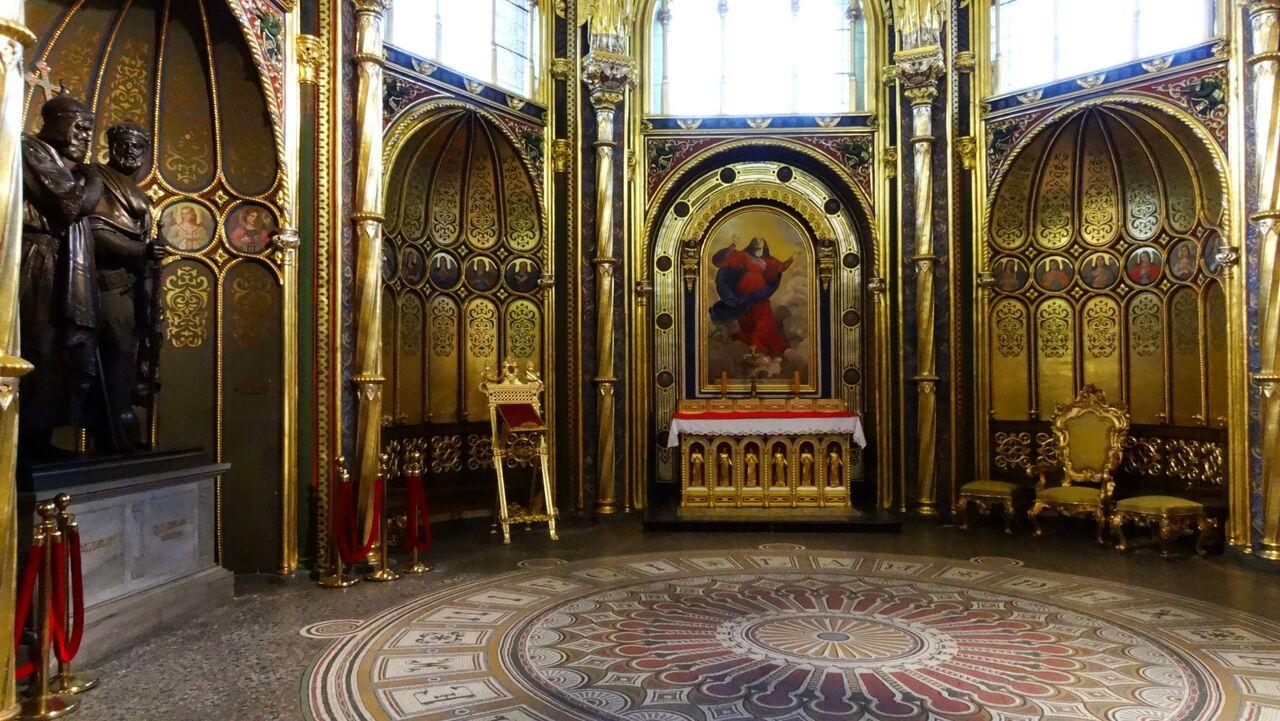 Die Goldene Kapelle in Posen