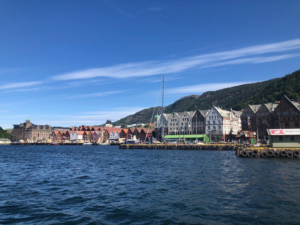 Bergen in Norwegen