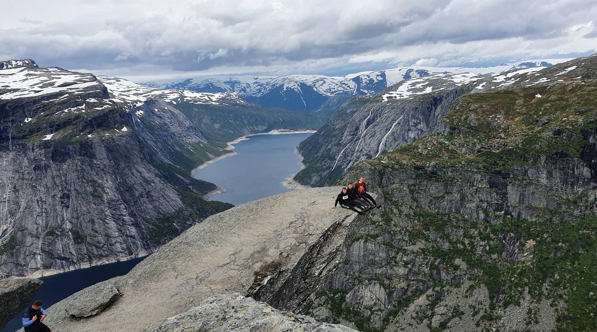 Abschlusswochenende mit atemberaubendem Blick auf Norwegen