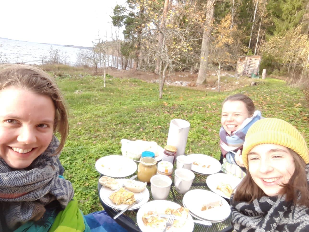 Frühstück in Marieudd