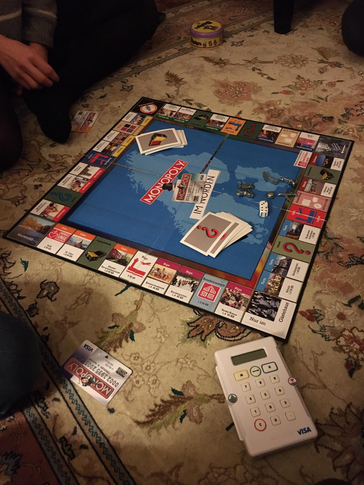 Praktikum im Norden Monopoly
