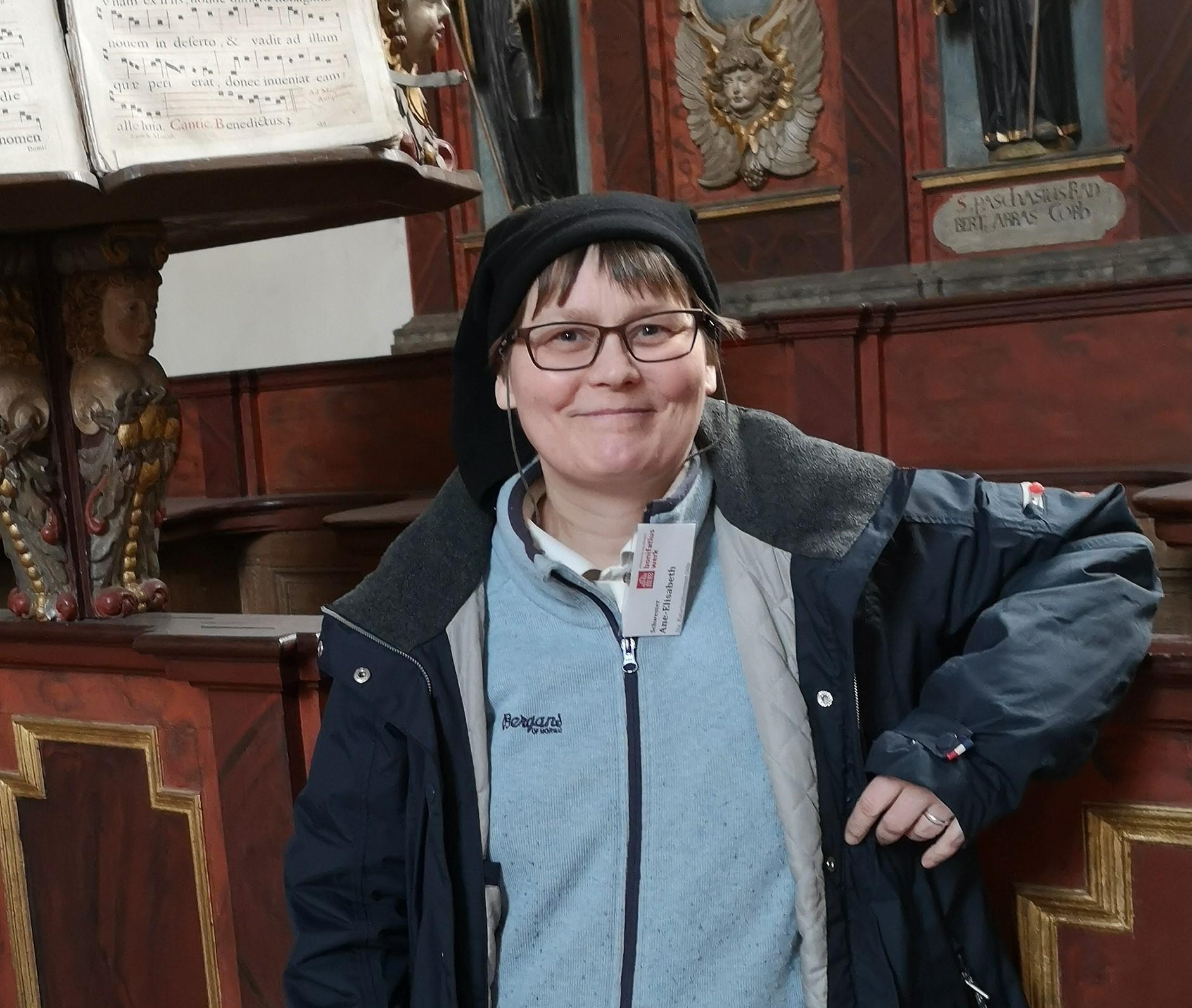 Sr. Ane-Elisabet aus dem Kloster Katarinahjemmet in Oslo ist die Mentorin für die Bonifatius-Praktikanten (Foto: Julia Jesse)