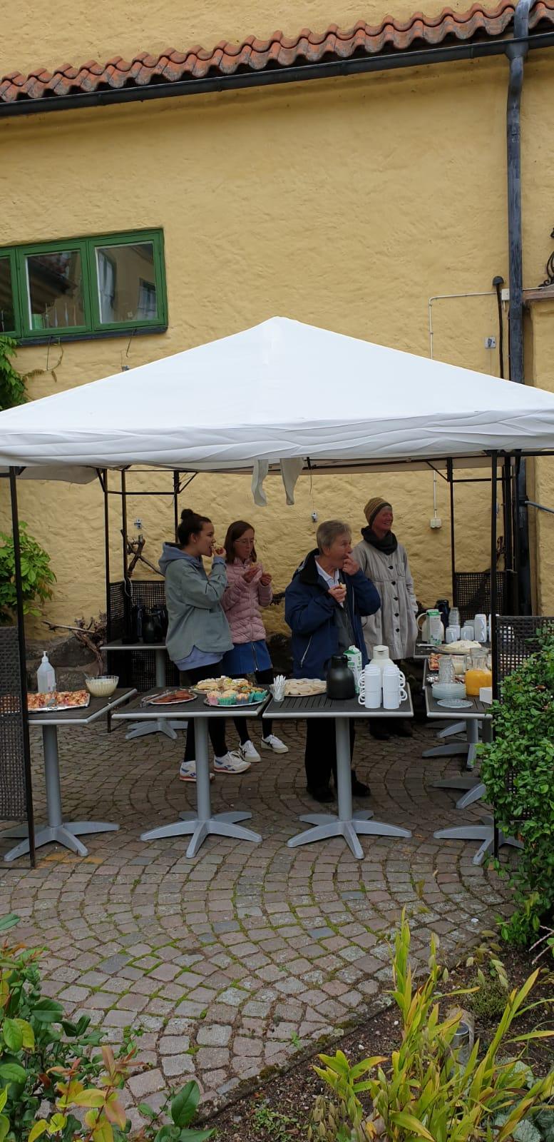 Kirchenkaffee in Vadstena