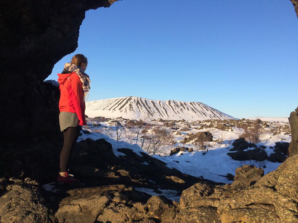 Vulkan in Mývatn